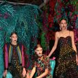 Présentation Alice and Olivia lors de la Fashion Week automne-hiver 2019/2020 à New York, le 11 février 2019. © Sonia Moskowitz/Globe Photos/Zuma Press/Bestimage