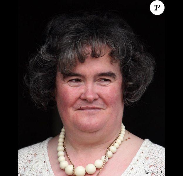 Susan Boyle chez elle en avril 2009