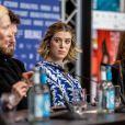 """Honor Swinton Byrne et sa mère Tilda Swinton - Photocall et conférence de presse du film """"The Souvenir"""" lors du 69ème Festival International du Film de Berlin, La Berlinale. Le 12 février 2019 12/02/2019 - Berlin"""