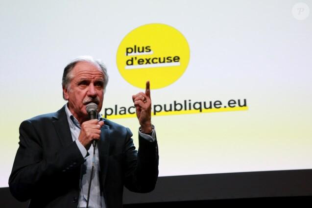 """Noël Mamère - Rassemblement du mouvement politique """"Place Publique"""" à l'Elysée Montmartre à Paris. Le 29 janvier 2019 © Céline Bonnarde / Bestimage"""