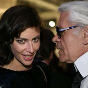 La ravissante Anna Mouglalis et Karl Lagerfeld... Chanel leur coule dans les veines !