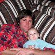 Caitlyn Jenner et son fils aîné Burt sur Instagram.
