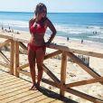 """Elodie de """"Mariés au premier regard 3"""" divine en bikini à Lacanau - Instagram, 8 septembre 2018"""