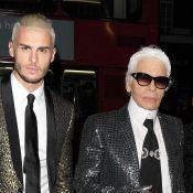 """Mort de Karl Lagerfeld : Dévasté, Baptiste Giabiconi est """"orphelin"""" d'un """"père"""""""