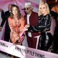 Ashley Graham, Umar Kamani, Khloe Kardashian à l'inauguration du siège social de PrettyLittleThing.com à West Hollywood, le 20 février 2019