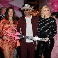 Ashley Graham, Umar Kamani, Khloe Kardashian à l'inauguration du siège social de PrettyLittleThing.com à West Hollywood, le 20 février 2019