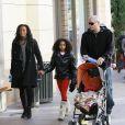 Mel B, ses filles Pheonix et Angel et son mari Stephen Belafonte