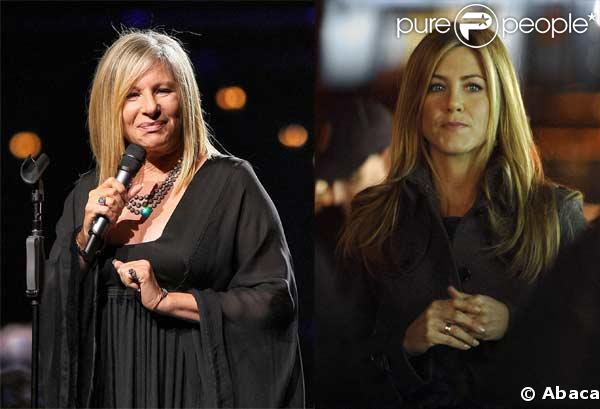 Barbra Streisand/Jennifer Aniston