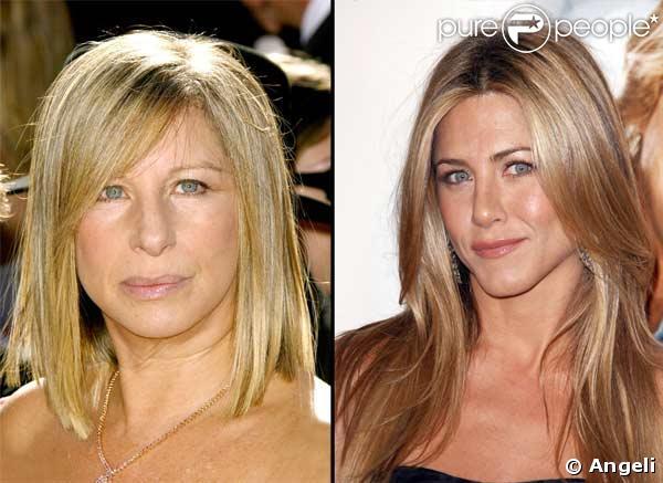 Jennifer Aniston est-elle la fille cachée de Barbra ...