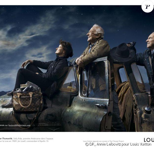 La nouvelle campagne Louis Vuitton est lunaire