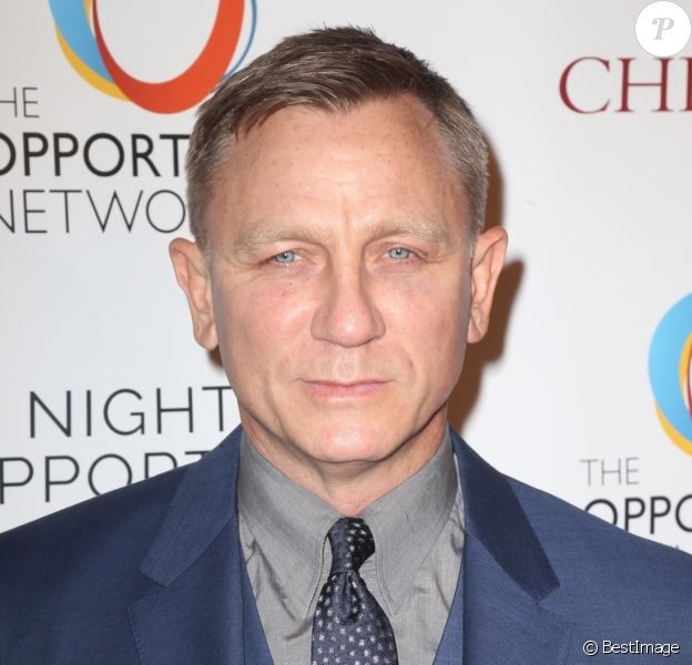 Daniel Craig à la 11ème soirée annuelle Opportunity Network à New York, le 9 avril 2018