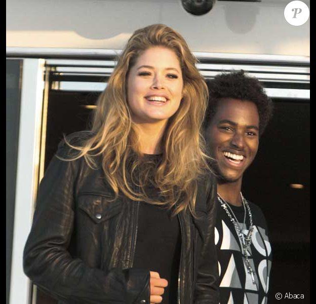 Doutzen Kroes et son petit ami DJ Ruckus