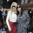 """Claudia Schiffer et Monica Bellucci - People au défilé de mode Prêt-à-Porter automne-hiver 2019/2020 """"Chanel"""" à Paris. Le 5 mars 2019 © Olivier Borde / Bestimage"""