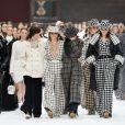 """Défilé de mode Prêt-à-Porter automne-hiver 2019/2020 """"Chanel"""" au Grand Palais, à Paris. Le 5 mars 2019"""