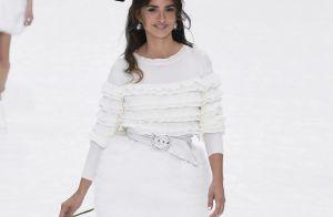 Fashion Week : Penélope Cruz émue devant Claudia Schiffer et Naomi Campbell