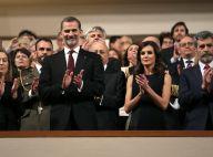 Letizia et Felipe d'Espagne : Solennels à la mémoire des victimes du terrorisme