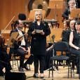 Image, le 7 mars 2019, du concert à la mémoire des victimes du terrorisme, à l'auditorium national à Madrid, en présence du couple royal espagnol.