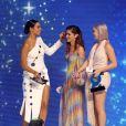 """Rochelle Humes, Cheryl et Anne-Marie - Soirée de la 2ème édition """"The Global Awards 2019"""" à Londres le 7 mars 2019."""