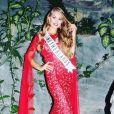 Lotte van der Zee lors du concours Miss Teen Universe, au Guatemala, le 26 juillet 2017.