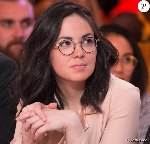 """Exclusif - Agathe Auproux - 1000ème de l'émission """"Touche pas à mon poste"""" (TPMP) en prime time sur C8 à Boulogne-Billancourt le 27 avril 2017."""