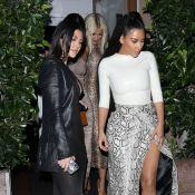 Les Kardashian : Kim, Khloé, Kourtney et Kylie Jenner, divines en famille