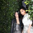 Kourtney Kardashian, Kim Kardashian, Khloé Kardashian et Kylie Jenner sont allées diner au restaurant Giorgio Baldi à Santa Monica, le 12 mars 2019.