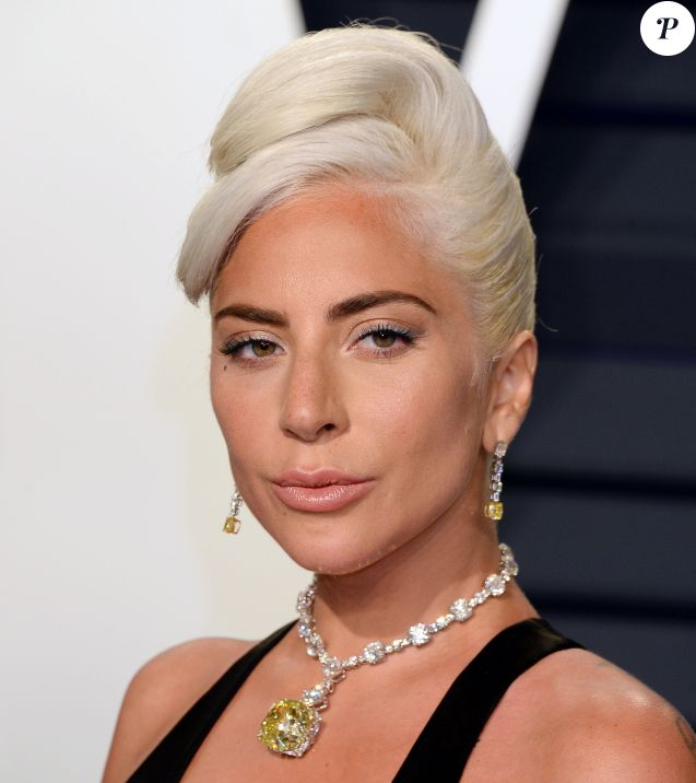 Lady Gaga - Soirée Vanity Fair Oscar Party à Los Angeles. Le 24 février 2019