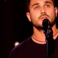 """Petru dans """"The Voice 8"""" sur TF1, le 23 mars 2019."""