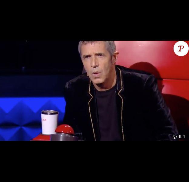 Julien Clerc dans The Voice 8, le 23 mars 2019.