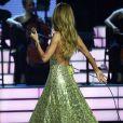 Céline Dion au Caesars Palace de Las Vegas.