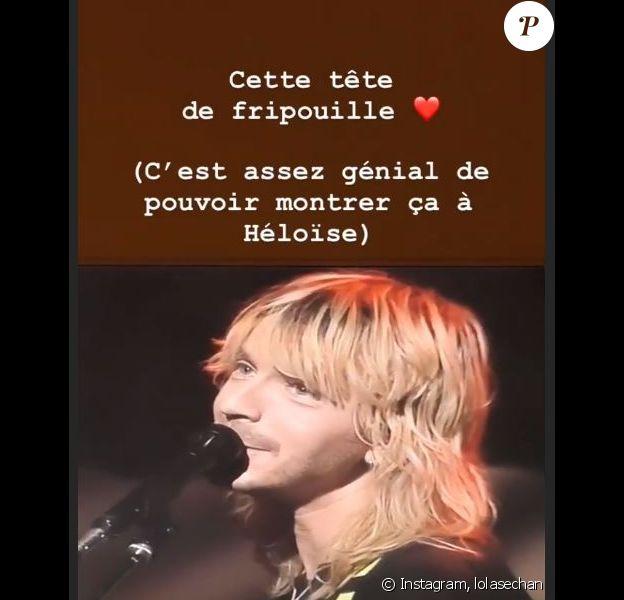 Lolita Séchan a partagé une vidéo de son père Renaud, en story Instagram, vendredi 15 mars 2019