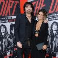 "Tommy Lee et sa femme Brittany Furlan à l'avant-première du film Netflix ""The Dirt"" au cinéma ArcLight dans le quartier de Hollywood, à Los Angeles, Californie, Etats-Unis, le 18 mars 2019."