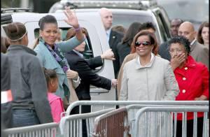 Michelle Obama : jamais sans sa mère et ses filles pour visiter... la Tour Eiffel !