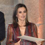 Letizia d'Espagne : Glamour devant une Agatha Ruiz de la Prada très... patriote