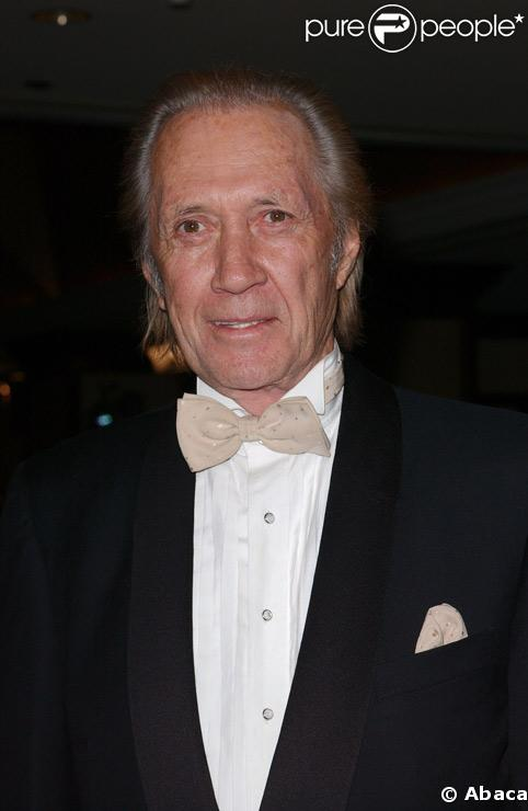 David Carradine en janvier 2008