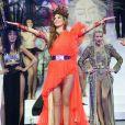 """Exclusif - Iris Mittenaere (Miss France 2016 et Miss Univers 2016) - Participation exceptionnelle de Iris Mittenaere dans la revue Spectacle """"Fashion Freak Show"""" aux Folies Bergère à Paris le 13 février 2019."""