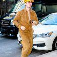 Exclusif - Justin Bieber arrive à un studio d'enregistrement à New York. Le 5 mars 2019