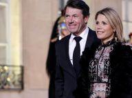Laura Tenoudji et Christian Estrosi, amoureux main dans la main à l'Élysée