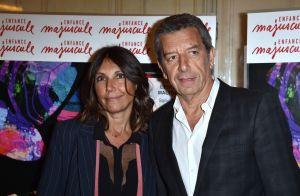 Michel Cymes et sa femme Nathalie face à Richard Berry et sa femme Pascale