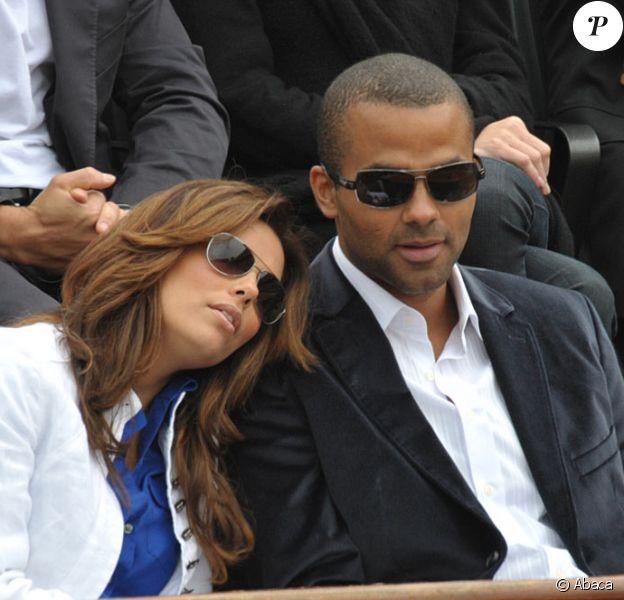 Le couple Tony Parker/Eva Longoria, toujours aussi amoureux...