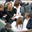 Les couples Tony Parker/Eva Longoria et Bixente Lizarazu/Claire Keim ont fait connaissance