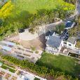Exclusif - Vues aériennes de la maison de Shannen Doherty à Malibu. Shannen a des problèmes avec sa compagnie d'assurance qui refuse de payer les dommages causés par l'incendie de Woolsey. Malibu, le 26 mars 2019.