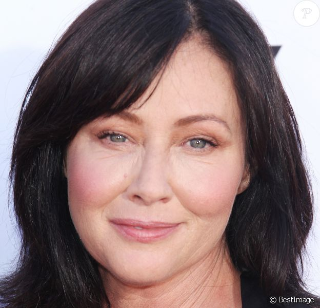 """Shannen Doherty à la """"Sixth biennal Stand Up To Cancer (SU2C) telecast at the Barker Hangar"""" à Los Angeles, le 7 septembre 2018."""