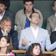 en célibataire à Roland-Garros