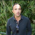 Nikos Aliagas à Roland-Garros