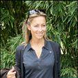Anne-Sophie Lapix à Roland-Garros