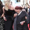 """Cate Blanchett, Agnès Varda - Montée des marches du film """" Les Filles du Soleil """" lors du 71ème Festival International du Film de Cannes. Le 12 mai 2018 © Borde-Jacovides-Moreau/Bestimage"""