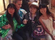 Laeticia Hallyday et ses filles rendent hommage à Agnès Varda, JR la fait voler