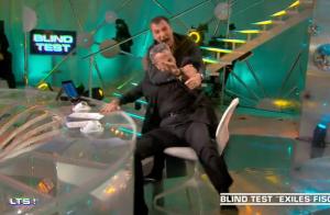 Michaël Youn saute sur Thierry Ardisson en pleine émission et le plaque au sol