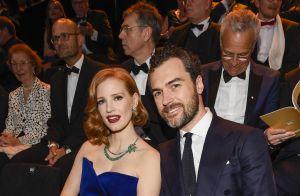 Jessica Chastain divine avec son mari, face à Conchita Wurst au look SM